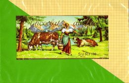 Etiquette Emballage Chocolat : Chocolat Au Lait  Surfin - Labels