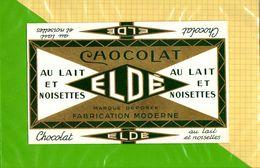 Etiquette Emballage Chocolat : Chocolat Au Lait Et Noisettes ELDE - Labels