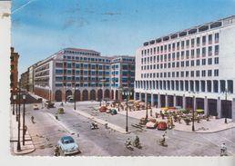 Livorno Piazza Grande Auto 1957 Vg - Livorno