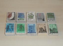 10 Pcs Stamp Bundles ( 10 X 100 = 1000 Pcs ) ** All Different ** Used Stamps ** - Turkey