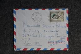 Lettre Du CAMEROUN ( FOUMBOT) Vers FRANCE - Kameroen (1960-...)