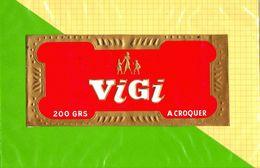 Etiquette De Chocolat VIGI  A Croquer - Labels