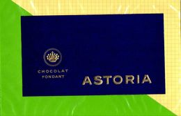 Etiquette De Chocolat ASTORIA - Labels