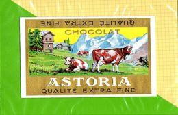 Etiquette De Chocolat  : Chocolat ASTORIA - Labels