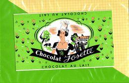 Etiquette De Chocolat  : Chocolat JOSETTE - Labels