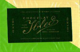 Etiquette De Chocolat  : Chocolat IBLED De Mondicourt - Labels
