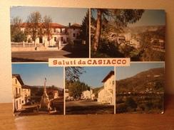 Cartolina Saluti Da Casiacco Frazione Di Vito D'Asio Pordenone Vedutine Viaggiata 1972 - Pordenone