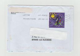LSC - YT 4432 - Coeur Multicolore LANVIN - Marcophilie (Lettres)