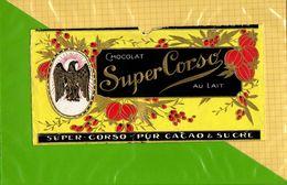 Etiquette Emballage Chocolat SUPER CORSO  Pur Cacao Sucre - Labels