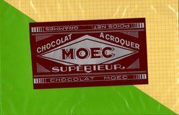 Etiquette Emballage Chocolat  MOEC - Labels