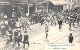 75e Anniversaire De L'Indépendance Belge.  Cortège De La Fête Des Halles Et Marchés Bruxellois. 03 - L'Académie Culinair - Feesten En Evenementen