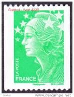 France Roulette N° 4239 ** Marianne De Beaujard Gommé, Le 20 Grammes, Vitesse Lente Le Vert - Rollen