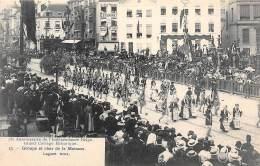 75e Anniversaire De L'Indépendance Belge.  Grand Cortège Historique.  N° 13.  Groupe Et Char De La Moisson - Feesten En Evenementen
