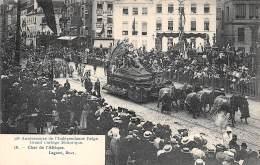 75e Anniversaire De L'Indépendance Belge.  Grand Cortège Historique.  N° 16.  Char De L'Afrique. - Fêtes, événements