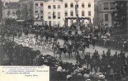 75e Anniversaire De L'Indépendance Belge.  Grand Cortège Historique.  N° 29.  L'Indépendance Nationale.  Porte-cartel - Feesten En Evenementen