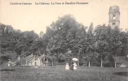 CAMBRON-CASTEAU - Le Château - La Tour Et Escalier D'honneur. - Brugelette