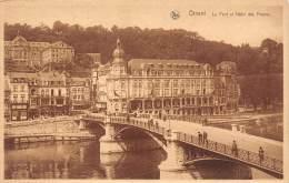DINANT - Le Pont Et Hôtel Des Postes. - Dinant