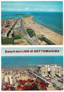 Sottomarina (VE) - 2 Cartoline - Italie