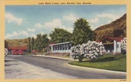 Nevada Lake Meade Lodge Near Boulder City Curteich