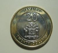 Jamaica 20 Dollars 2001 - Jamaica