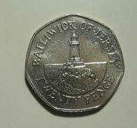 Jersey 25 Pence 1996 - Jersey