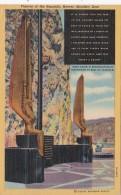 Nevada Hoover Dam Figures Of The Republic Curteich