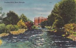 Nevada Reno The Truckee River 1950