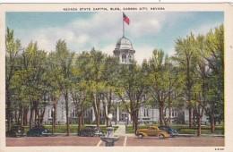 Nevada Carson City State Capitol Building 1950