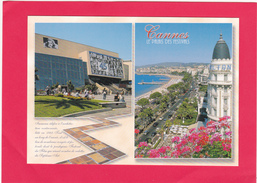 Modern Multi View Post Card Of Cannes, Provence-Alpes-Cote D'Azur, France,B34. - Cannes