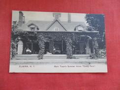 Mark Twains Summer  Home Quarry Farm  Elmira NY  -ref 2804 - NY - New York