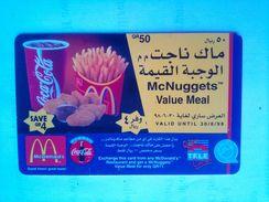 QR 50 Mcdonalds - Qatar