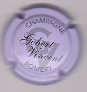 Capsule Champagne GOBERT Vinçent ( 1a ; Mauve Pâle Et Noir ) {S03-18} - Unclassified