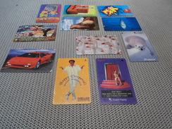 SINGAPORE - 11 Nice Thematic Phonecards - Singapore