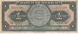 H16 - Billet · Mexique, -1 Peso Type 1957 - Mexico