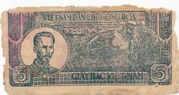 H16 - Billet · VIETNAM - DAN CHU CONG HOA - 5 DONG - 1948 - Viêt-Nam
