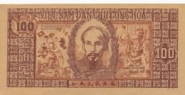 H16 - Billet · VIETNAM - GIAY BAC VIÊT-NAM - 100 DONG - 1948 - Vietnam
