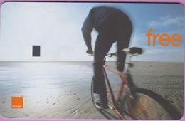 Télécarte Belgique °° Orange - VTT Free -SIM ° RV..  *  TBE - [2] Prepaid & Refill Cards