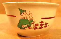 MINI BOL L.S.K. C.S.KI. ( PETIT DEJEUNER CHOCOLAT OU CACAO ) - Dishware, Glassware, & Cutlery