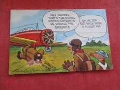 Military Comic   US ARMY Landing A Plane  === Ref 2804 - Comics