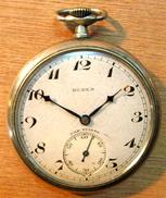 MONTRE GOUSSET BUREN FAB SUISSE / BUREN FAB. SUISSE GRAND PRIX / METAL POLI N° 646414 - Watches: Bracket