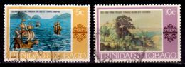 Trinidad And Tobago,,1976, #262, 263, Scenes In Paaintings, Used, NH - Trinidad & Tobago (1962-...)