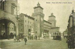 FERRARA PIAZZA DELLA PACE /IL CORRIERE ITALIANO PUBBLICA MATA HARI NUOVO ROMANZO DI G. DA VERONA  VIAGGIATA 1924 (904) - Ferrara
