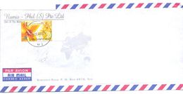 2001.Singapure, The Letter Sent By Air-mail Post To Moldova - Singapore (1959-...)