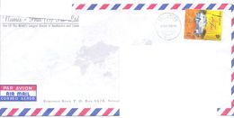 2000.Singapure, The Letter Sent By Air-mail Post To Moldova - Singapore (1959-...)