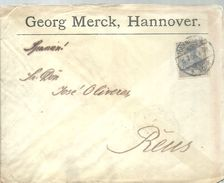 LETTER 1906  HANNOVER - Cartas