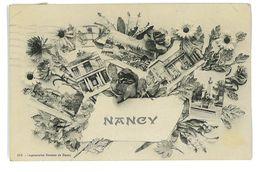 CPA 54 NANCY SOUVENIR MULTIVUE - Nancy