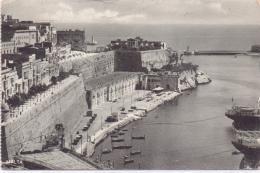 ALTE AK   MALTA / RM   - Valetta Seen From Upper Baracca - 1934 Gelaufen - Malta
