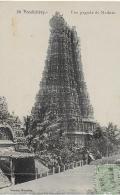 AK 0825  Pondichéry - Une Pagode Du Madura Um 1920 - Indien
