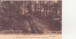 CPA - 10. CHAUSSY - Parc De Villarceaux, Les Cascades - France