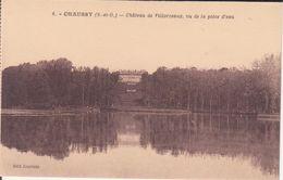 CPA - 6. CHAUSSY -château De Villarceaux, Vu De La Pièce D'eau - France